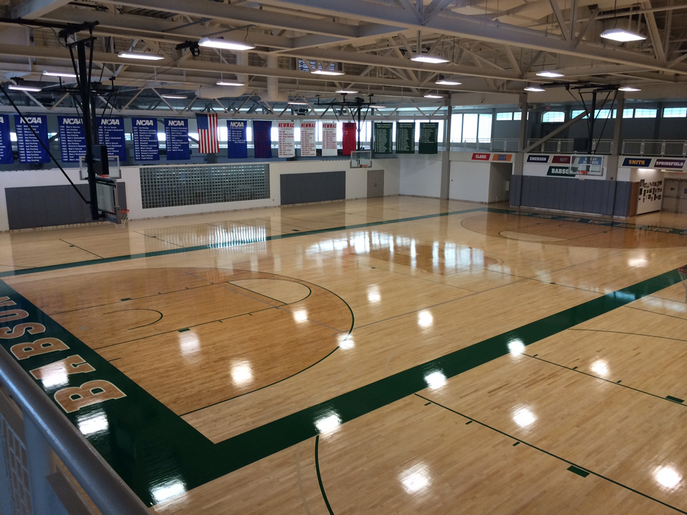 Gymnasium Floor Installations & Refinishing - Wood Sports Floors