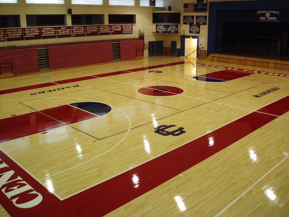 Gymnasium Floor Installations