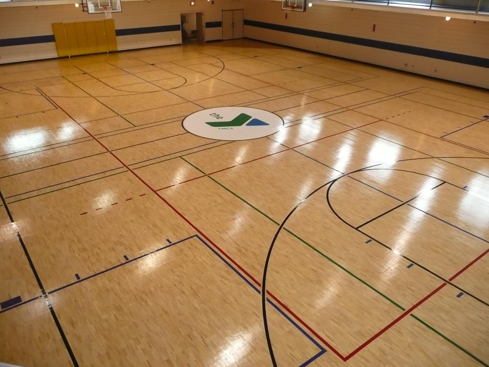 YMCA Gym Floor